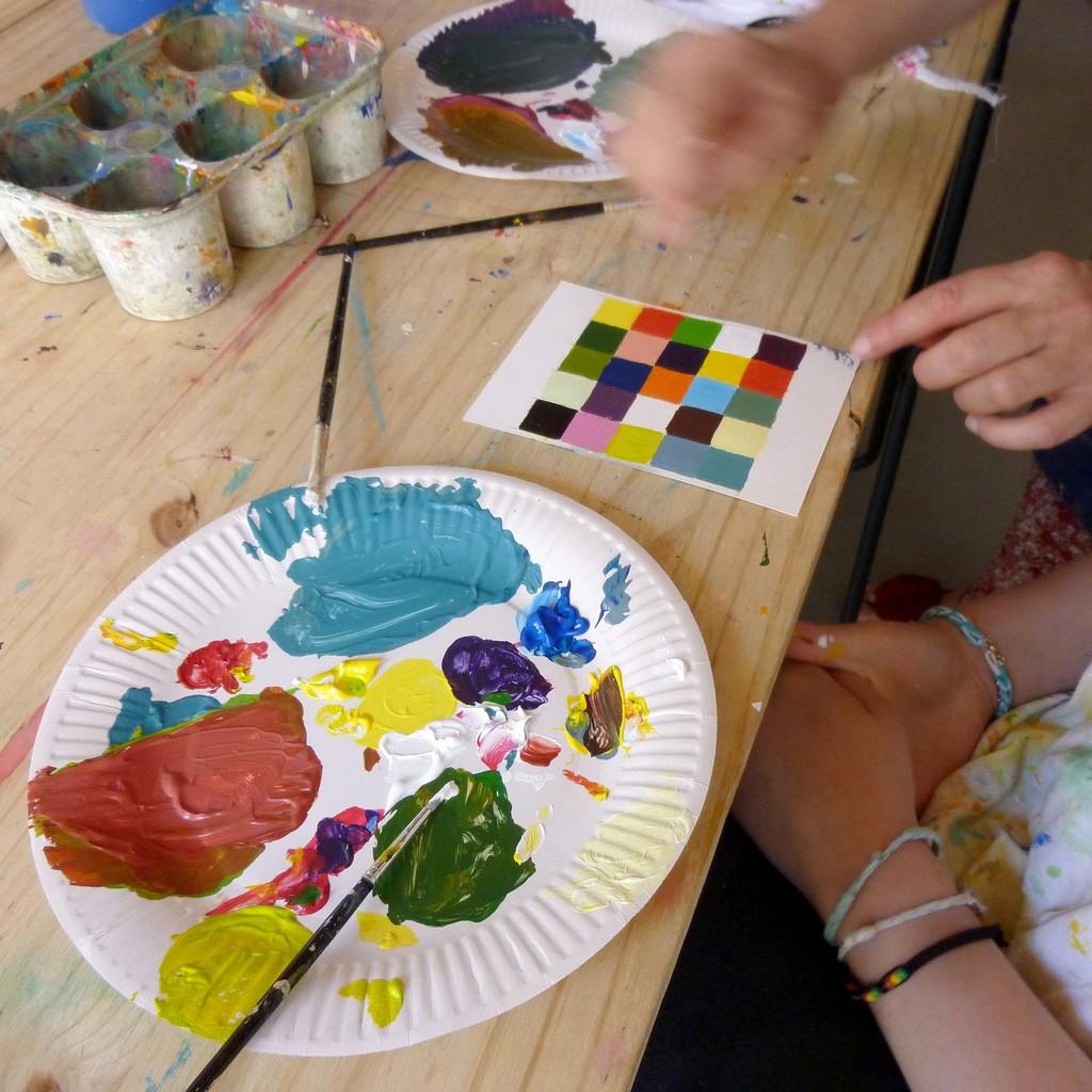 cours de peinture lyon